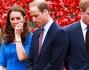 Kate Middleton e William d'Inghilterra insieme al Principe Harry