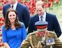 Kate, William ed Harry sulla Blood Swept Lands