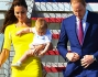 Kate e William sbarcano a Sidney con il piccolo George: foto