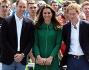 Kate con i Principi William ed Harry a Liverpool per dare il via alla competizione