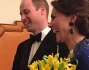 Kate Middleton e il Principe William ad un gala di beneficienza