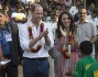 Kate Middleton e il Principe William in visita a Mumbai