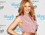 Kylie Minogue testimonial per Sloggi a Berlino: le foto