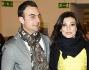 Roberta Lanfranchi ed Emanuele Del Greco alla prima di 'Amarcord'