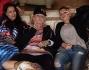 Emma, La Pina, Malika Ayane e Syria in attesa sella serata sul palco con la Pausini