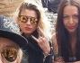 Selfie di gruppo durante le prove per Emma, La Pina, Malika Ayane e Syria