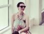 Laura Pausini è arrivata in Messico: eccola insieme al compagno Paolo Carta e la figlia Paola