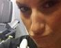 Laura Pausini imbronciata non ha molta voglia di fare ginnastica e lo posta su facebook
