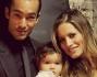 Al suo fianco ci sta sempre il compagno Aaron Diaz e la figlia Erin