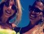 Bikini maculato e fluo per Gaia Lucariello e l'amica Valentina Del Vecchio