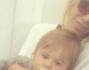 Gaia Lucariello con il figlio Lorenzo in volo verso le Baleari