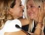Mara Venier e Barbara D'Urso durante la conferenza stampa tra baci e abbracci