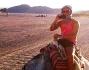 Marco Carta in vacanza nel deserto