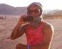 Marco Carta in vacanza nel Sahara
