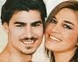 Marco Cuculo e' il nuovo 'lolito' di Lory Del Santo: eccoli posare insieme pe ri fotografi