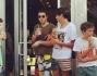 Tommaso Inzaghi con gli amici fa un break da Star Bucks