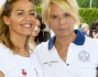 Maria De Filippi insieme all'amica Sonia Bruganelli a Tennis&Friends