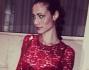 Marica Pellegrinelli in rosso per festeggiare il suo addio al nubilato