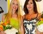 Emanuela Folliero e Martina Stella special guests da Musani Coture alla fiera di Milano