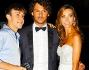 Francesca Rocco e Giovanni Masiero elegantissimi pronti a calcare il red carpet: lui in completo e lei in abito bianco quasi da sposa
