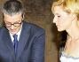 Ignazio Ardizzone scioglie il fiocco delle fedi per lo scambio delle fedi con Gaia De Laurentiis