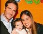 Maurizio Aiello e la moglie Ilaria hanno festeggiato il primo compleanno della figlia Ludovica
