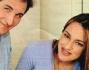 Maurizio Aiello e la moglie Ilaria Carloni con la piccola Ludovica nata il marzo scorso