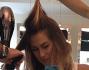 Nuovo look per l'ex velina mora ormai quasi bionda: Melissa Satta