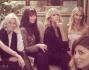 Cena tra amiche con Elena Santarelli, Melissa Satta, Federica Fontana e Alessandra Grillo