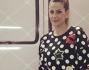 Simona Salvemini ha raggiunto l'amica in Germania: eccola con la sua felpa a pois che l'ex Velina indossava