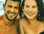 Mamma e sposa a soli 21 anni la bella attrice che posa con il compagno Christian Massella di anni 24