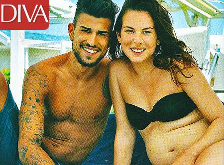 Micol olivieri incinta di 5 mesi con christian foto - Elisabetta diva futura ...
