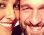 Juliana Moreira ed Edoardo Stoppa prima delle riprese del family blog