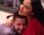 Naike Rivelli con il suo hairstylist Diego Padula
