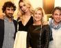 Nina Moric con Alessio Calabrò, Elena Sampellegrini e Roberto Casassa