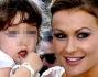 Eva Henger con la figlia Jennifer prima di entrare in Chiesa per dare inizio alla Cerimonia