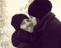 Paolo Ciavarro ed Alicia Bosco innamoratizzimi: eccoli teneri in montagna