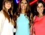 Cristina Parodi con la figlia Benedetta Gori e Lavinia Biagiotti