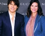 Laura Pausini e Paolo Carta nella Capitale per la proiezione di 'The Director - Inside the House of Gucci'