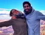 Federica Pellegrini e Filippo Magnini sullo sfondo del Grand Canyon