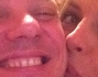 Gigi D'Alessio e Paola Perego per un selfie da Social