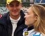 Pierre Casiraghi con  Beatrice Borromeo ha partecipato alla Volkswagen Scirocco R-Cup 2014