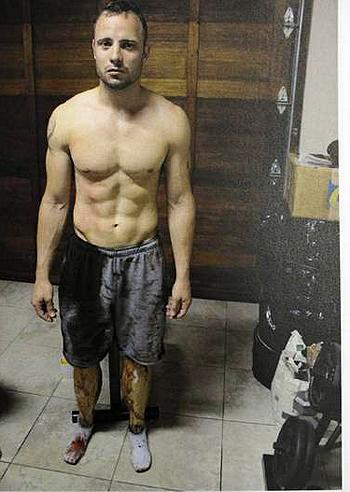 Oscar pistorius stato condannato per omicidio colposo - Arma letale scena bagno ...