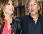 Paola Perego e Lucio Presta si ritirano verso casa dopo l'evento mondano della Bruganelli