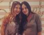 Michela Quattrociocche insieme all'amica Noemi Bonomo anche lei in dolce attesa