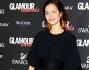 Marica Pellegrinelli incinta ha optato per un lunghissimo abito nero di pizzo con bolerino cooridnato