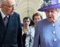 La Regina Elisabetta a pranzo con Giorgio Napolitano al Quirinale
