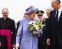 La Regina Elisabetta II ed il Principe Filippo Duca di Edimburgo durante la breve visita nel Bel Paese