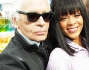 Rihanna e Karl Lagerfeld
