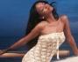 E' approdata nel Bel Paese con tutta la sua ciurma per un soggiorno di relax: Rihanna